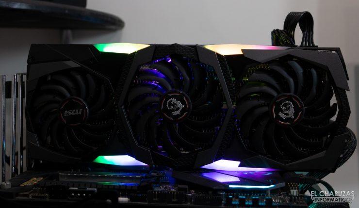 MSI GeForce RTX 2080 SUPER Gaming X Trio - Equipo de pruebas 3