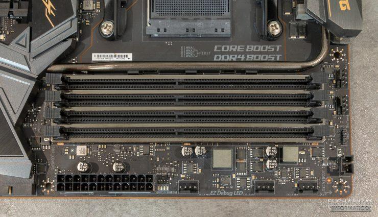 MSI MEG X570 ACE - Slots DDR4