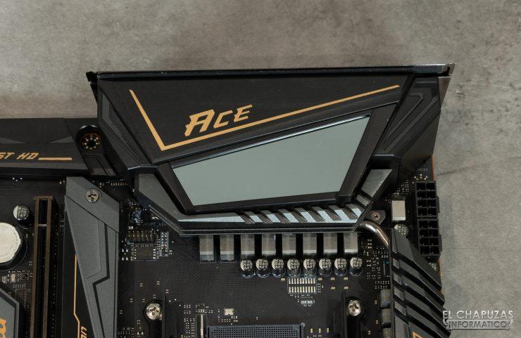 MSI MEG X570 ACE - Pantalla RGB efecto espejo infinito