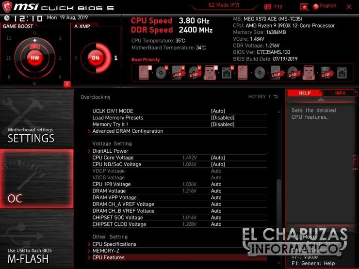 MSI MEG X570 ACE BIOS 7 740x555 45