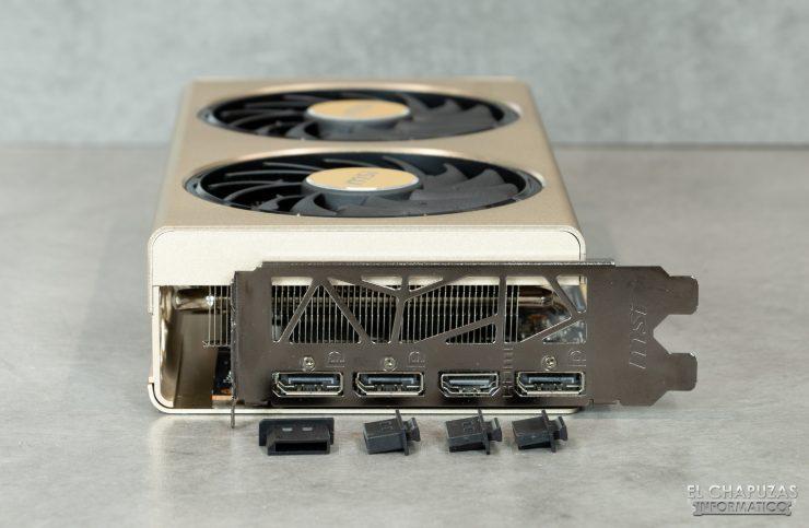 MSI Radeon 5700 XT Evoke - Salidas de video