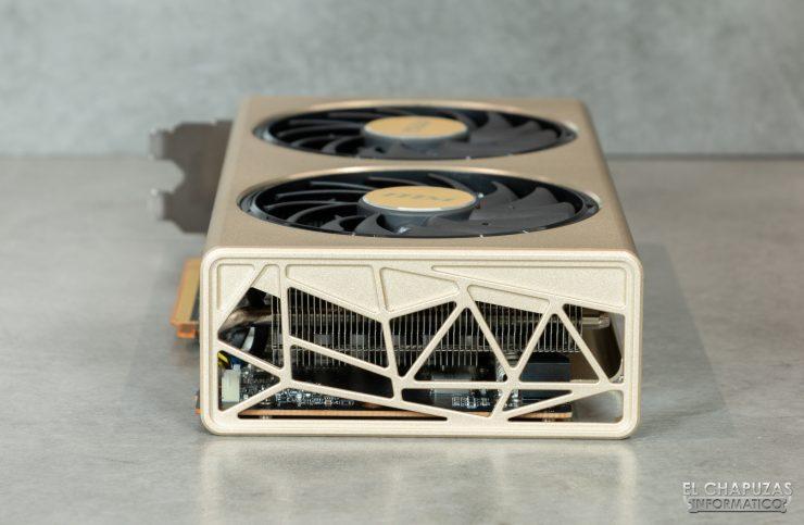 MSI Radeon 5700 XT Evoke - Vista trasera