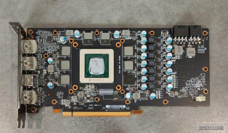 MSI Radeon 5700 XT Evoke - PCB Frontal