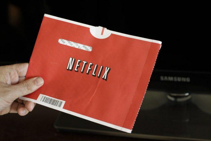 Netflix disco físico