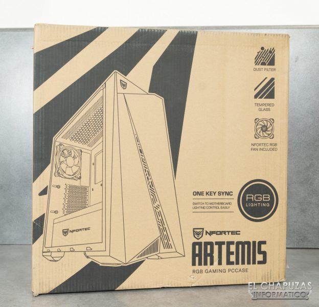 Nfortec Artemis - Embalaje exterior