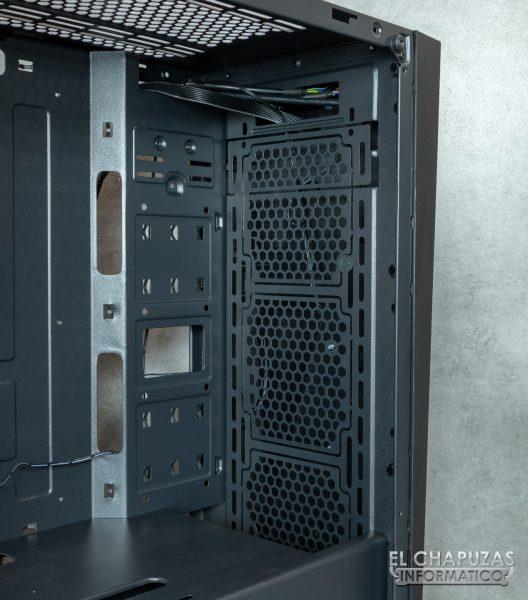 Nfortec Artemis - Interior - Lado frontal