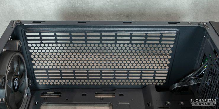 Nfortec Artemis - Interior - Lado superior