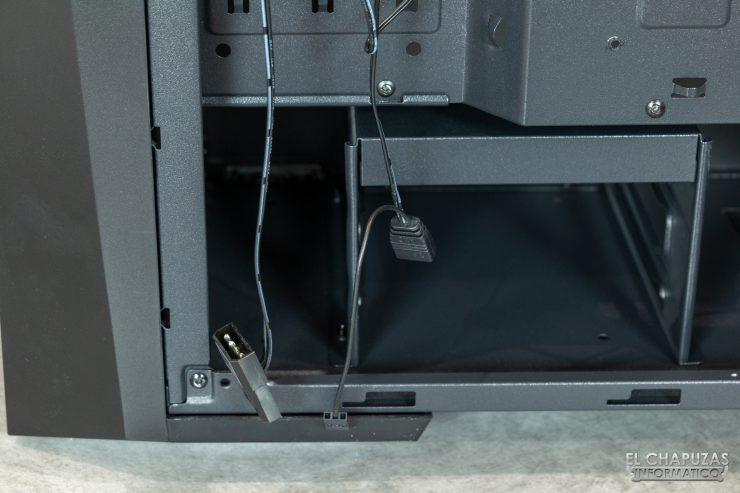 Nfortec Artemis - Conectores 2