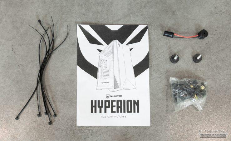 Nfortec Hyperion - Accesorios