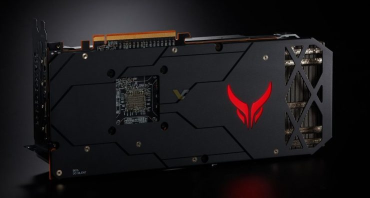 PowerColor Radeon RX 5700 XT Red Devil backplate