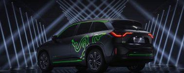 Así luce el Razer NIO ES6, un SUV completamente eléctrico con iluminación Razer Chroma