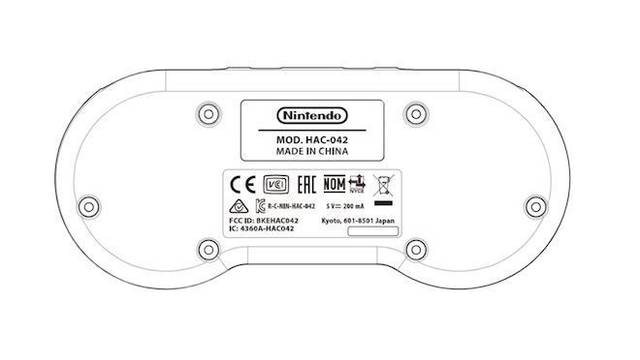 SNES mando inalámbrico Nintendo Switch