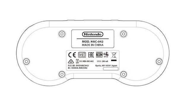 SNES mando inalámbrico Nintendo Switch