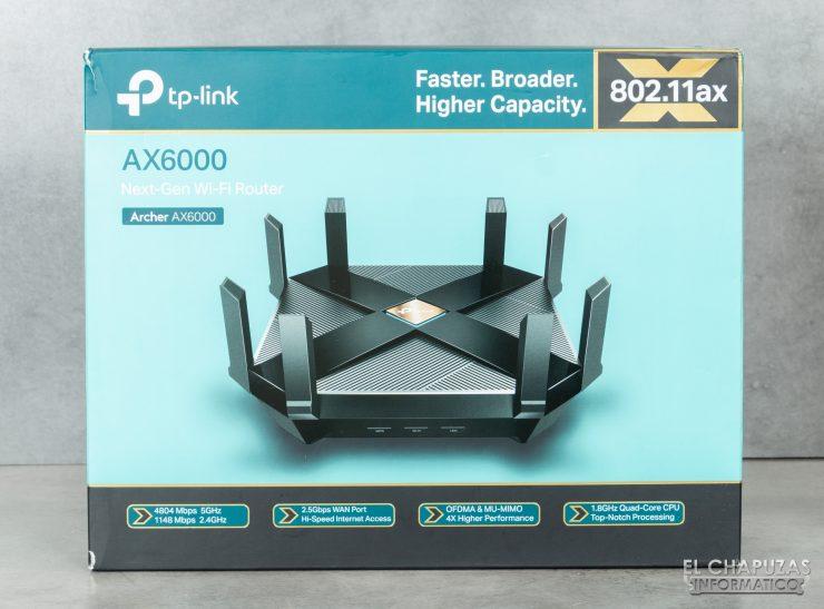TP-Link Archer AX6000 - Embalaje 1