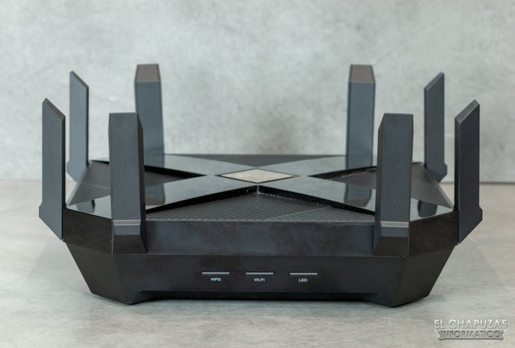 TP-Link Archer AX6000 - Botones