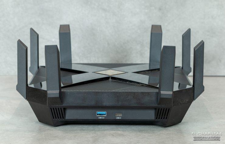 TP-Link Archer AX6000 - Conectores USB