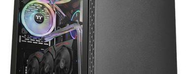 Thermaltake S500 TG: Acero, vidrio templado y bandeja PCI rotable