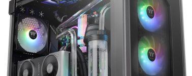 Thermaltake View 71 Tempered Glass ARGB Edition: Acero, 4x ventanas de vidrio templado y mucho RGB