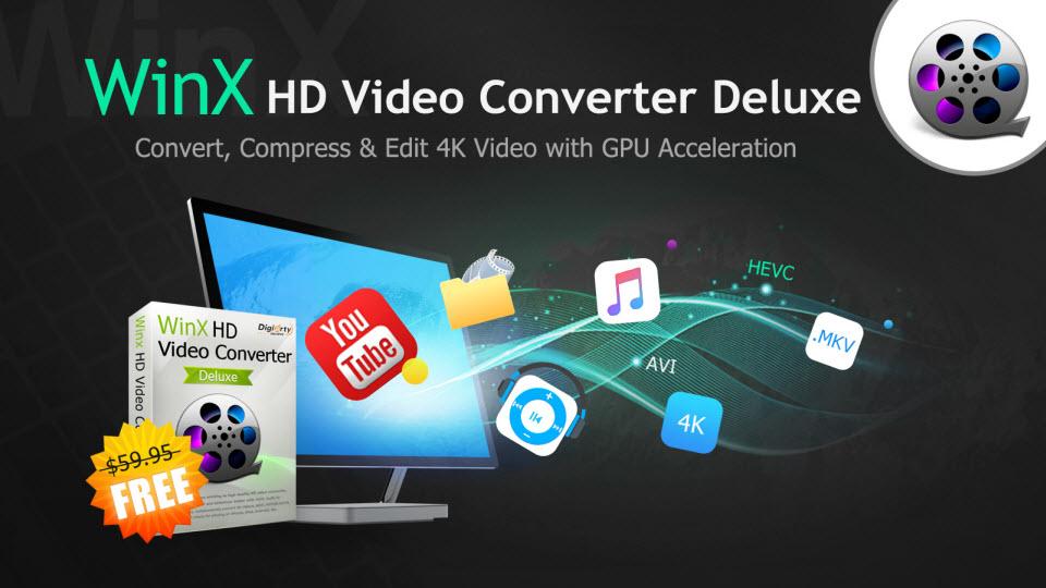 WinX HD Video Converter Deluxe - Oficial