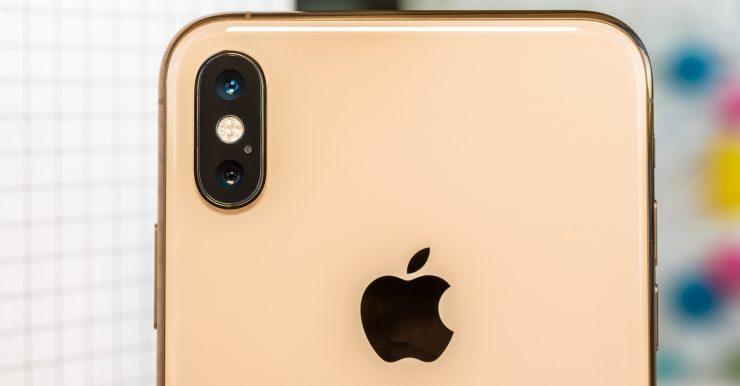 cámara de smartphone iPhone XS