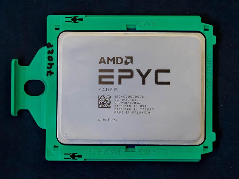El AMD EPYC 7402P se come a un Intel Xeon Platinum 8268 que cuesta 5x veces más
