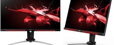 Acer Nitro XV273U S & Nitro XV273 X: Monitores gaming @ 165 y 240 Hz