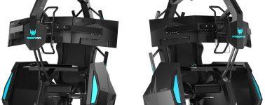 Acer Predator Thronos Air: Una silla gaming que te hace masajes por 8.975 euros
