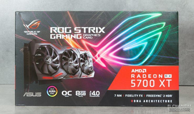 Asus ROG Strix Radeon 5700 XT - Embalaje 1