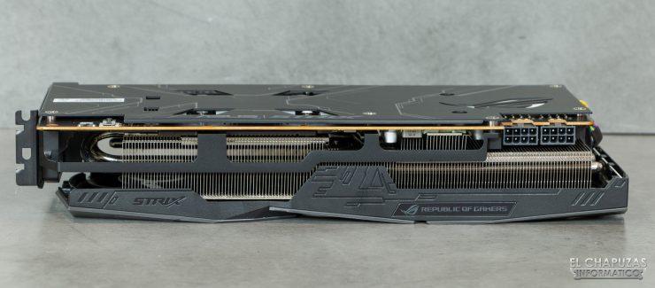 Asus ROG Strix Radeon 5700 XT - Vista lateral