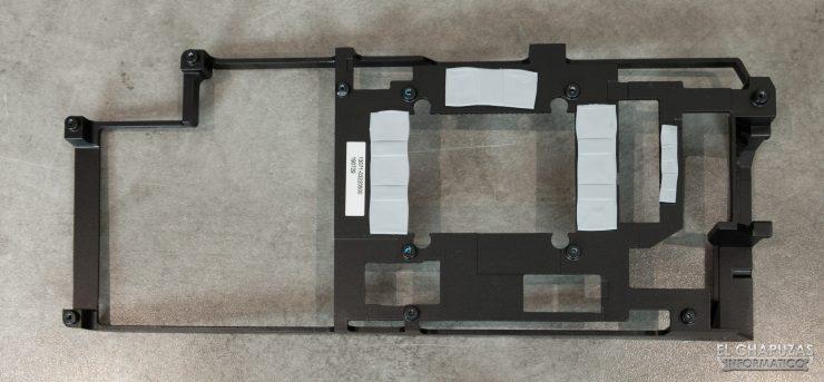 Asus ROG Strix Radeon 5700 XT - Frontplate desmontado