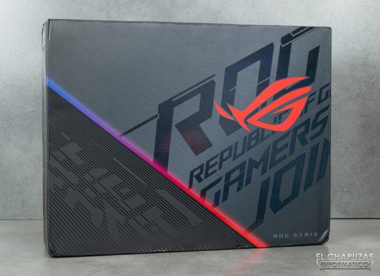 Asus ROG Strix SCAR III G531GW - Embalaje exterior