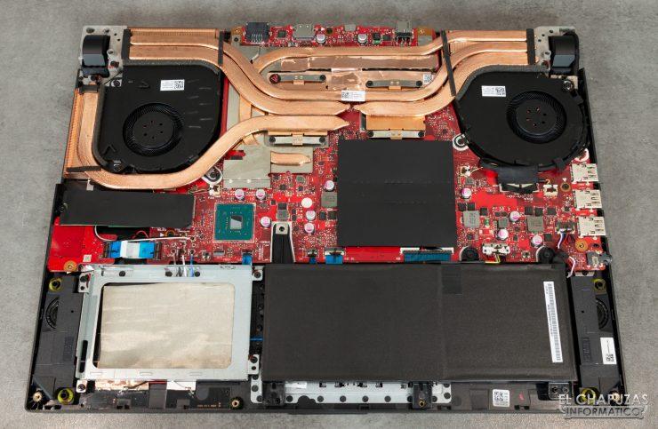 Asus ROG Strix SCAR III G531GW - Interior