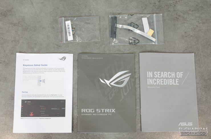 Asus ROG Strix SCAR III G531GW - Documentación