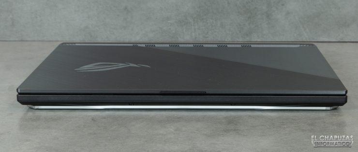 Asus ROG Strix SCAR III G531GW - Lado frontal
