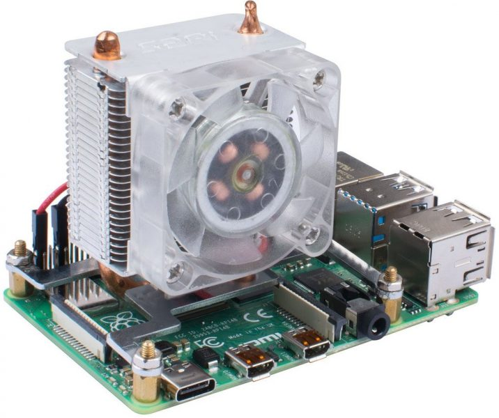 Disipador para Raspberry Pi 4 Blink Blink ICE Tower