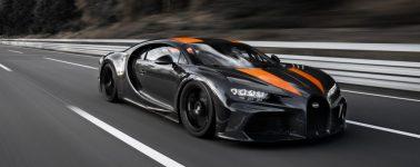 El Bugatti Chiron rompe la barrera de los 490 km/h y alcanza un nuevo récord
