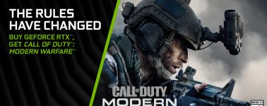 Nvidia comienza a regalar el Call of Duty: Modern Warfare con sus gráficas GeForce RTX
