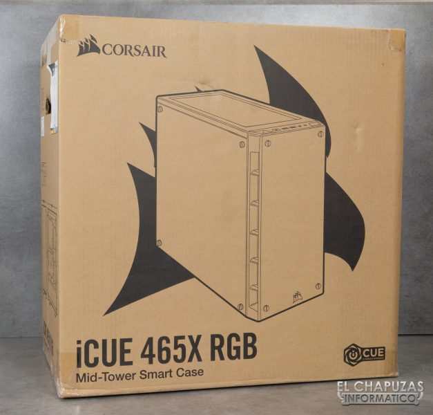 Corsair iCUE 465X RGB - Embalaje exterior