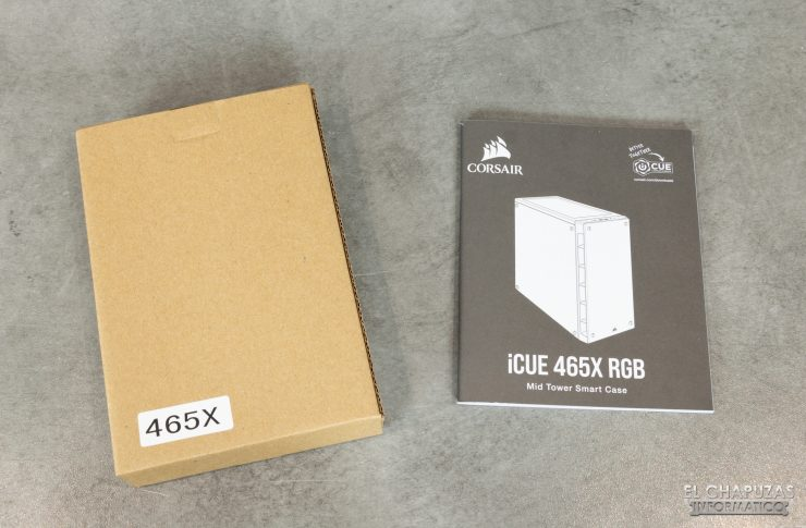 Corsair iCUE 465X RGB - Accesorios