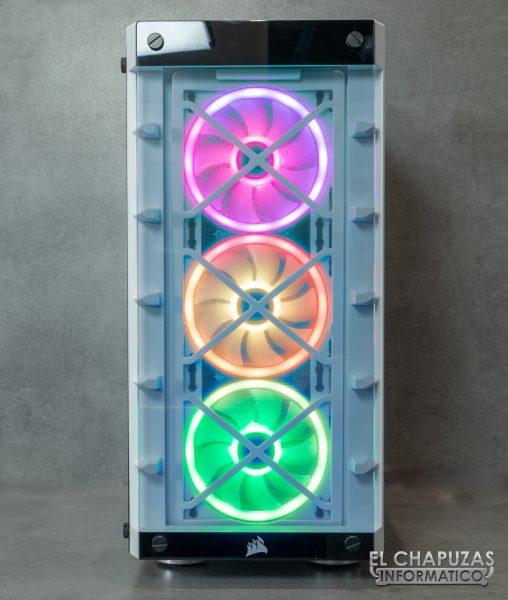 Corsair iCUE 465X RGB - Frontal