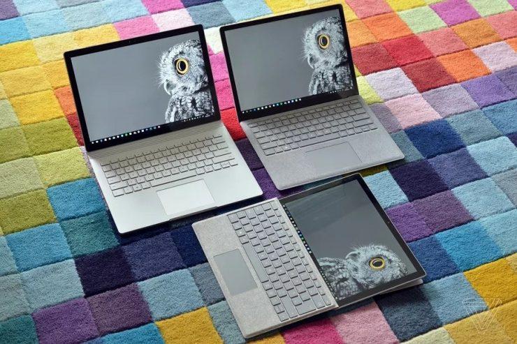 Dispositivos Microsoft Surface 740x493 0