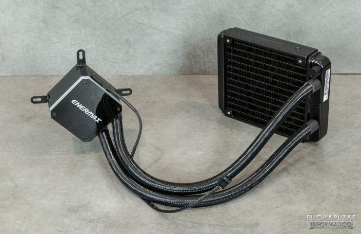 Enermax Liqmax III RGB 120 - Apagada