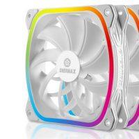 Enermax lanza sus SquA RGB White, ventiladores cuadrados de color blanco