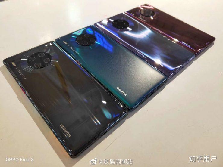 Huawei Mate 30 Pro y Huawei Mate 30