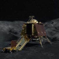 La India encuentra el módulo de aterrizaje lunar Vikram