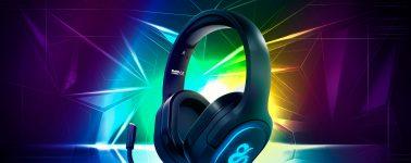 Newskill Scylla: Auriculares gaming inalámbricos con iluminación RGB
