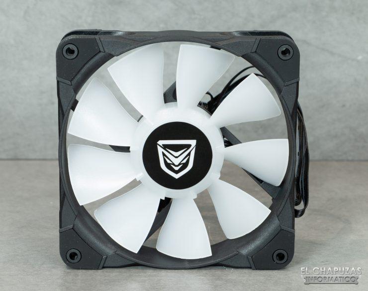 Nfortec Hydrus RGB 120 - Ventilador