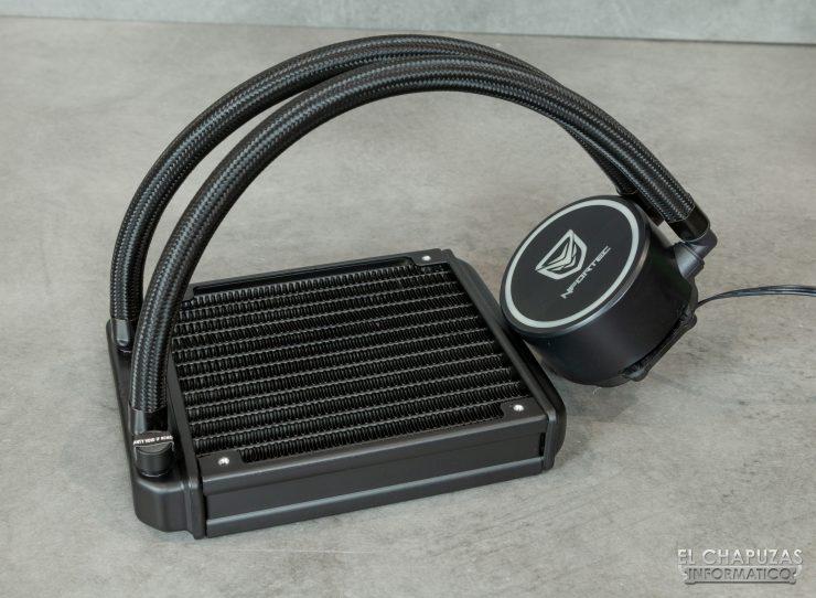 Nfortec Hydrus RGB 120 - Kit desmontado