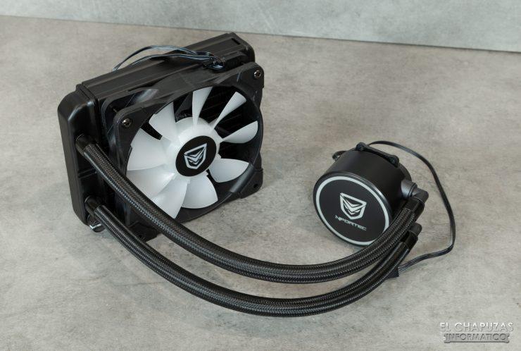 Nfortec Hydrus RGB 120 - Kit montado