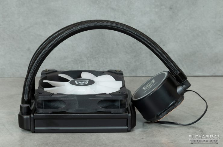 Nfortec Hydrus RGB 120 - Kit montado 2